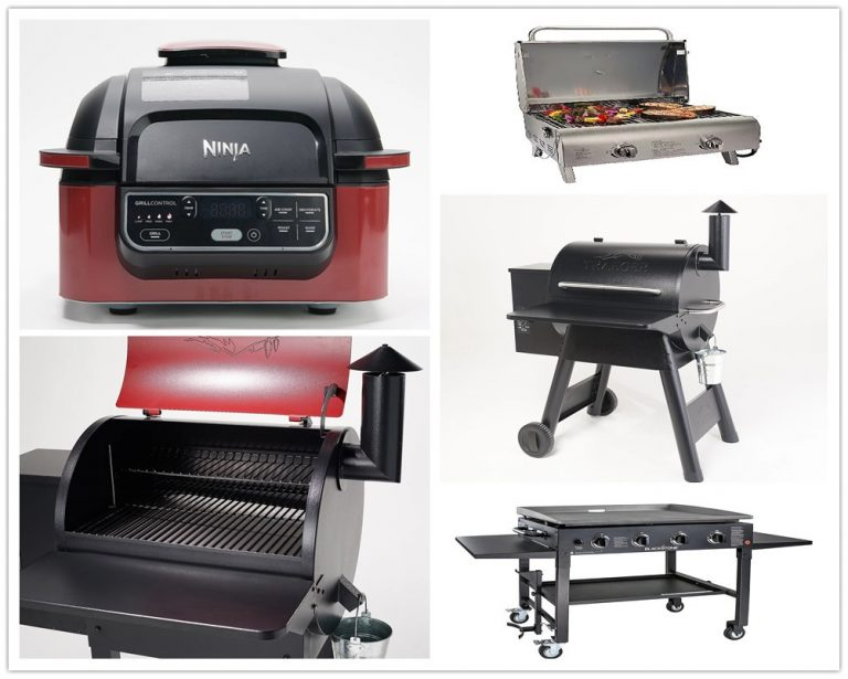 6 Top Recommended Home BBQ Grills & Smokers